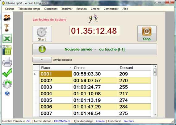 Logiciel de chronom trage d 39 preuves sportives - Telecharger open office gratuitement et rapidement ...